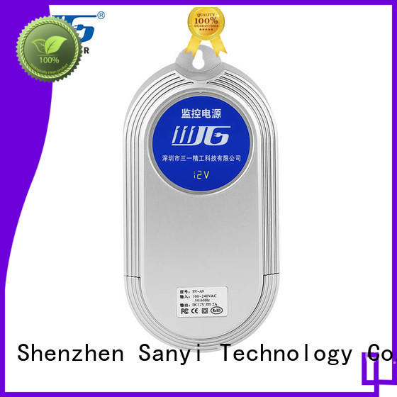 Sanyi High-quality samsung security camera power adapter long lifespan for illuminator