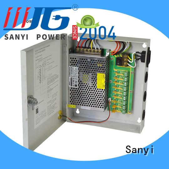 Custom erd power supply for cctv camera high-end power security camera