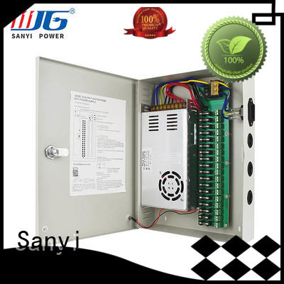 Sanyi rainproof security camera power supply road for led