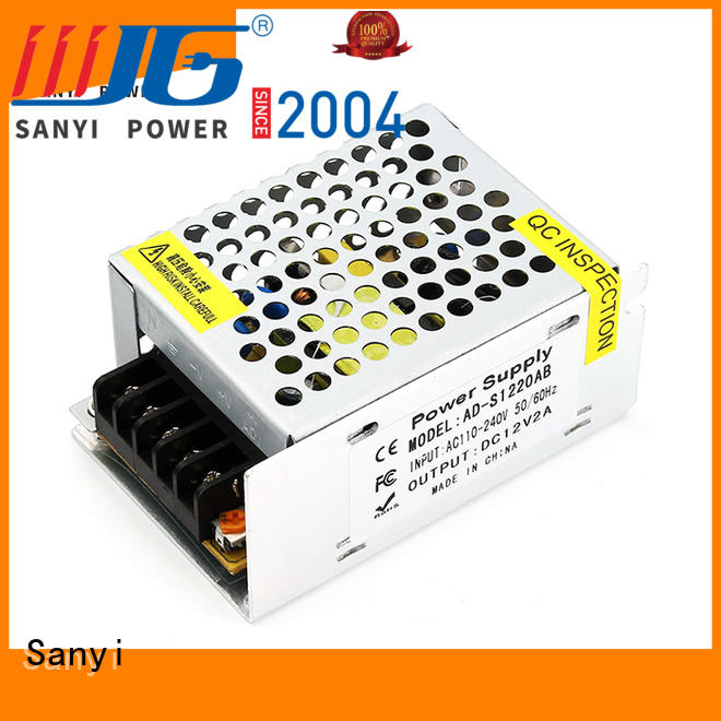 Sanyi factory price switching power supply efficiency factory for camping