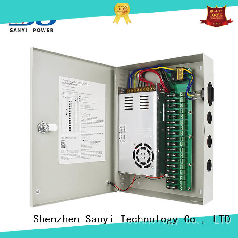 Sanyi Custom security camera power connector long lifespan for led