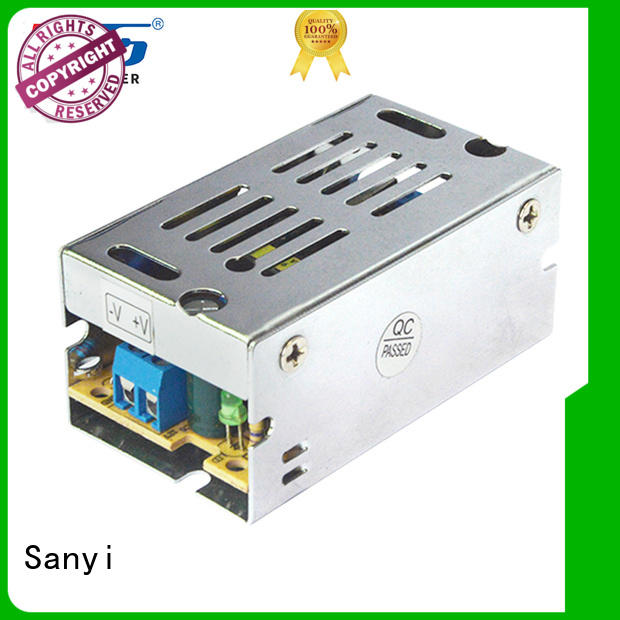 Sanyi switching 12 volt switching power supply best factory for equipment