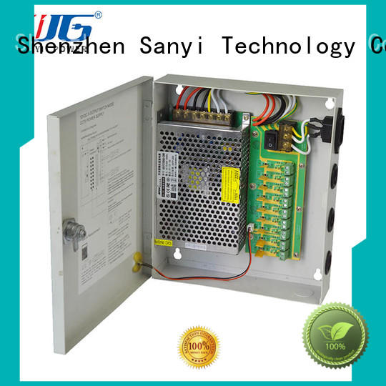 high quality surveillance camera power supply channel system for led Sanyi