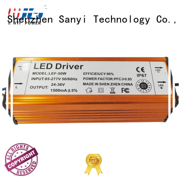 Sanyi waterproof power led driver inquire now for camera