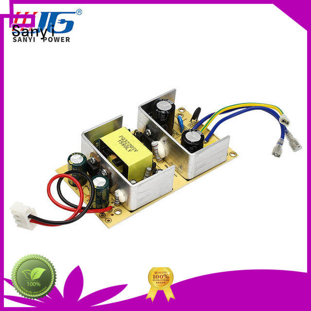 Sanyi builtin open frame power supply by bulk for electronics