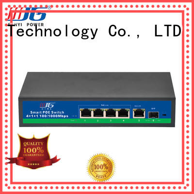 Sanyi hot-sale poe switch 8 port best price for digital device