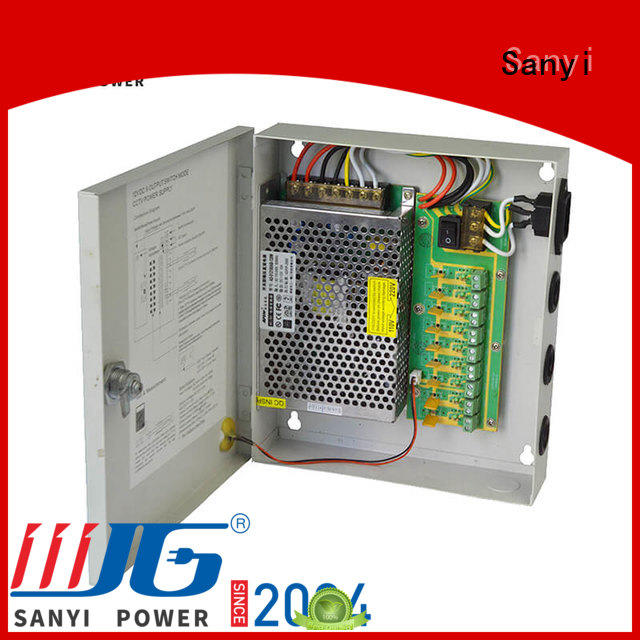 Sanyi high-end cctv camera power supply 12vdc channel system security camera