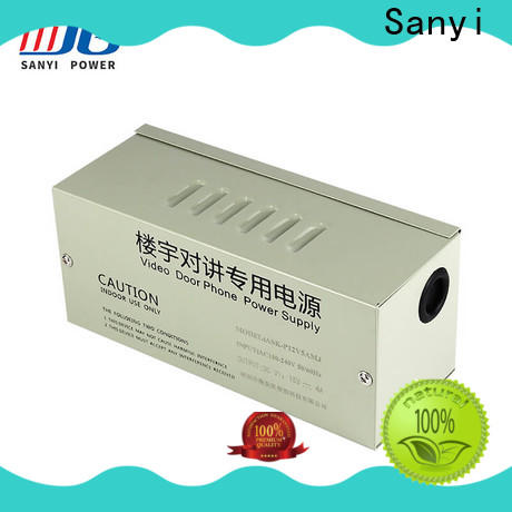 Sanyi high quality rack mount cctv power supply long lifespan for cctv