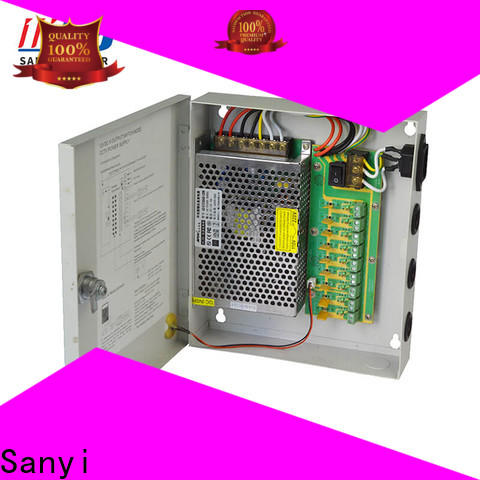 Sanyi durable 12 volt cctv system box support for illuminator