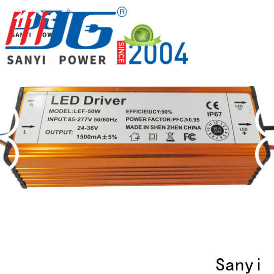 Sanyi Best led light power supply inquire now for led