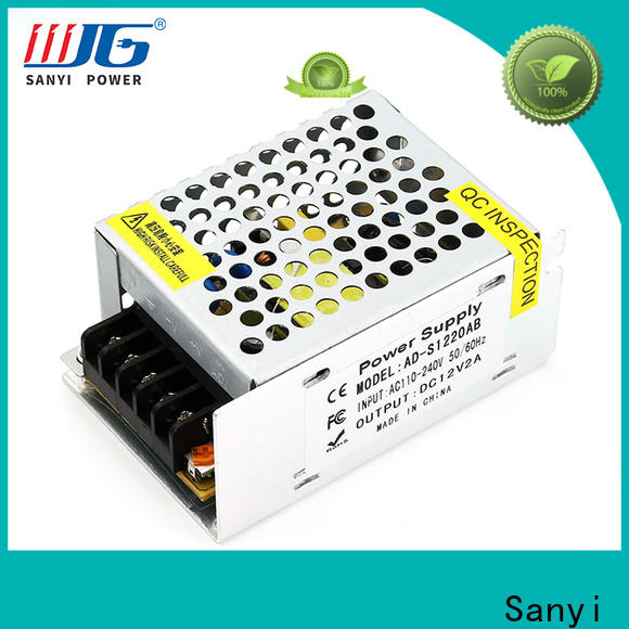 Sanyi Top 24v ac dc power supply factory for led