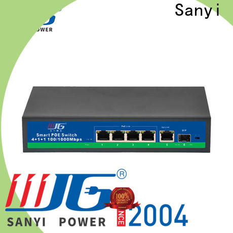 Sanyi Best switch poe high quality for electronics