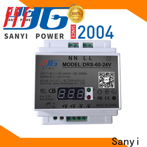 Sanyi Wholesale din rail power supply 24vdc cheap factory price for dc