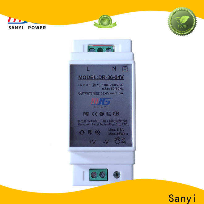 Sanyi automation din-rail power supply high quality for automation