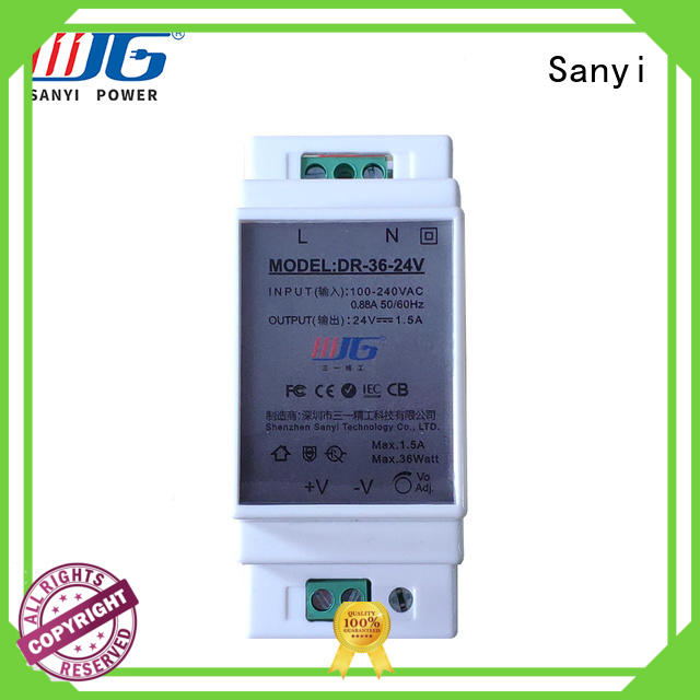 Sanyi equipment din-rail power supply cheap factory price for equipment