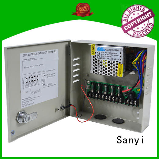 Sanyi high-end cctv camera power supply access control for camera