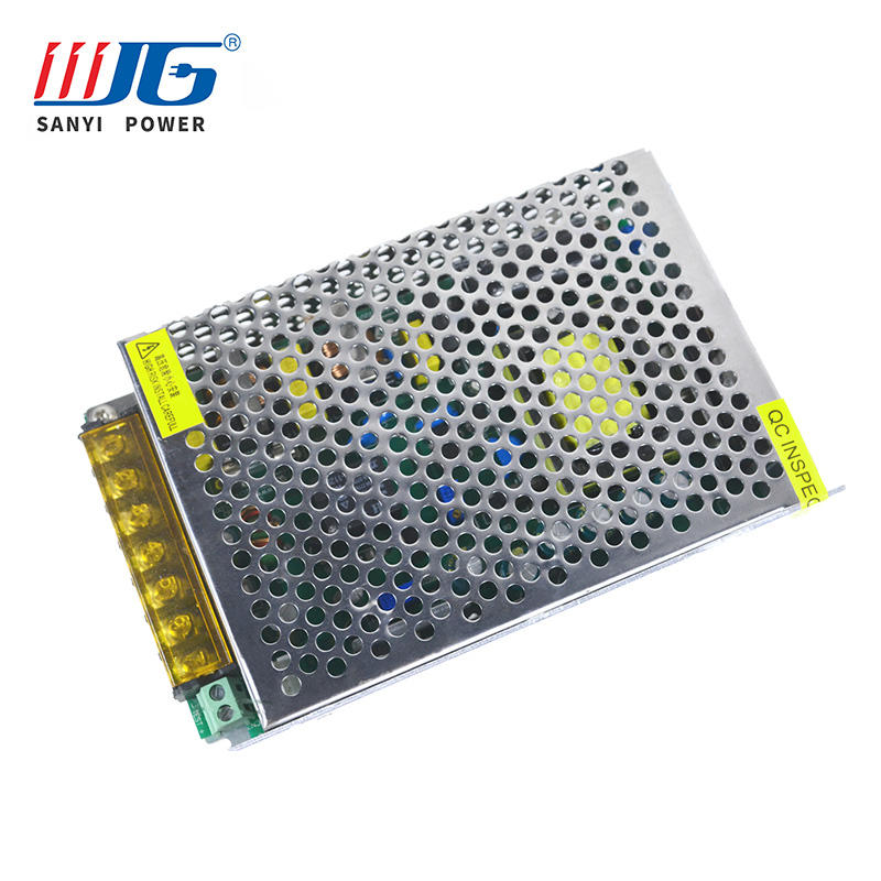12V 10A emergency power supply with battery charging EPS-63100