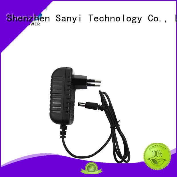 Sanyi durable 12v dc adapter for wholesale for electronics