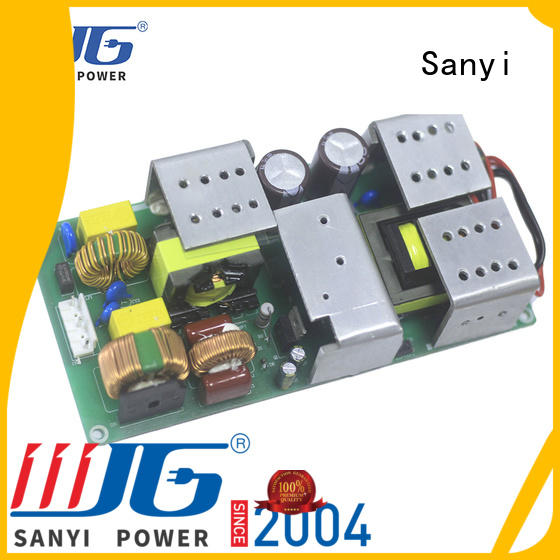 Sanyi hot-sale open power supply by bulk for electronics