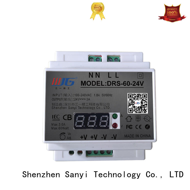 automation din rail power supply 24vdc power for dc Sanyi