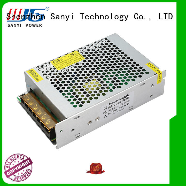 latest design 48v power supply factory price for camping Sanyi
