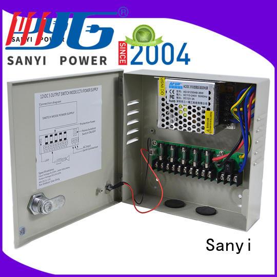 Sanyi Custom cctv camera types power for cctv