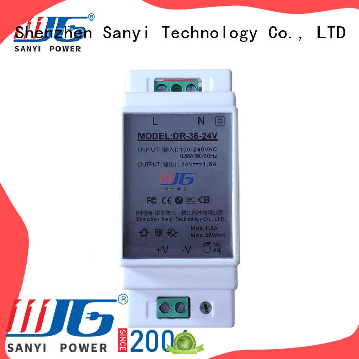 Sanyi Wholesale din-rail power supply high quality for automation