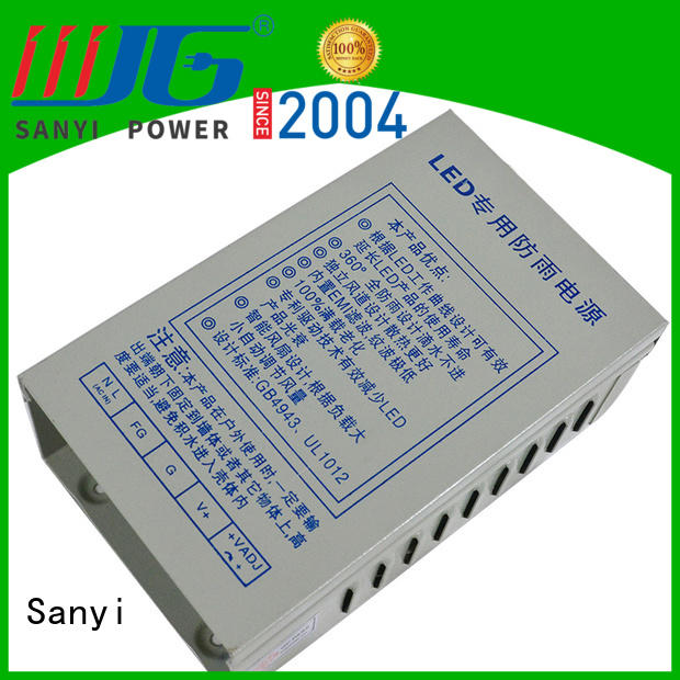Sanyi rainproof constant voltage led driver inquire now for driver