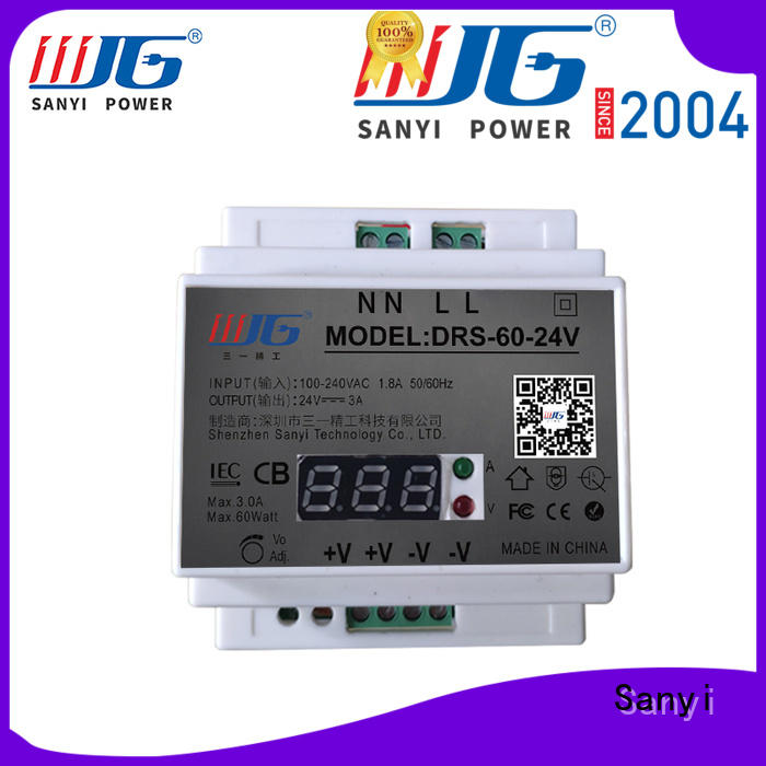 Sanyi all sizes din power supply high quality for automation