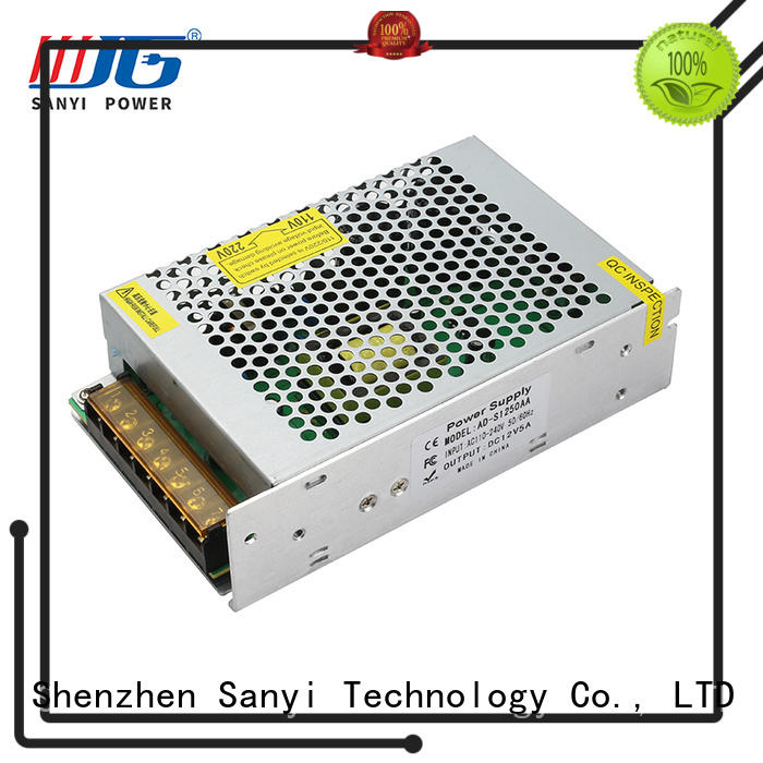 Sanyi latest design switching power supply 12v 1a manufacturers for camping
