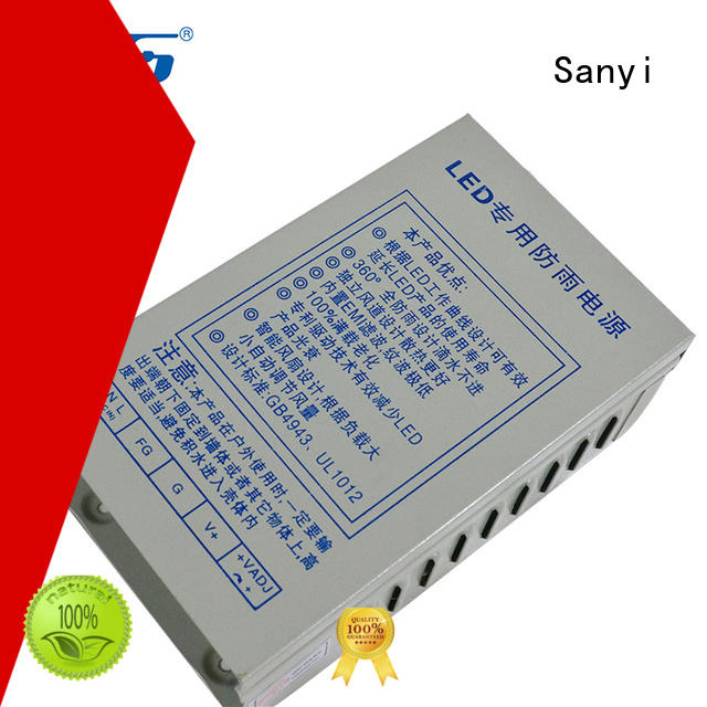Sanyi Best led driver power supply power box for camera