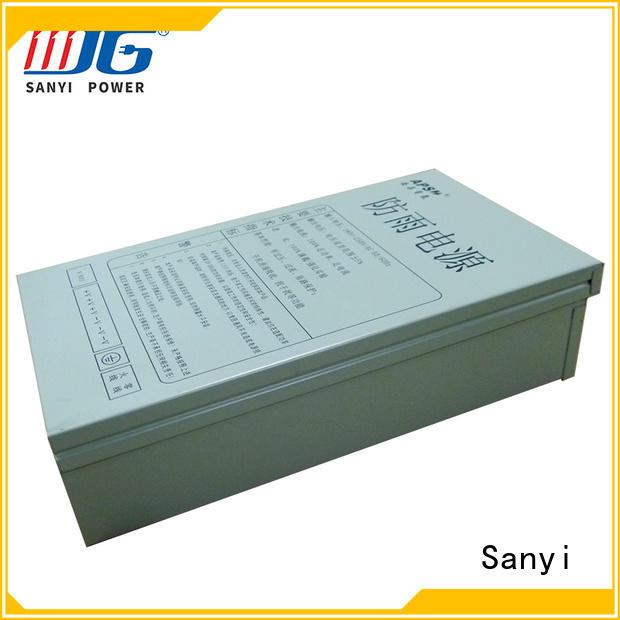 12v 10a power supply aluminum for cctv Sanyi
