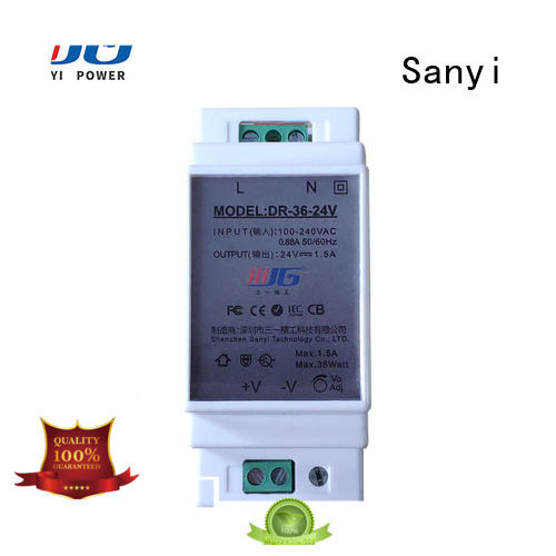 Sanyi automation din-rail power supply cheap factory price for dc