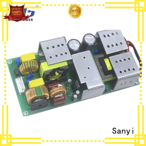 Sanyi u type open frame power supply 12v at discount for digital device