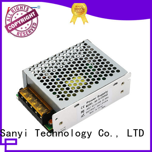 Sanyi best factory switching power supply 12v shell for equipment