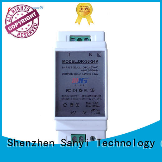 Sanyi rail din rail power supply 24vdc inquire now for automation