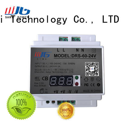 large size din rail mount power supply free sample for dc Sanyi