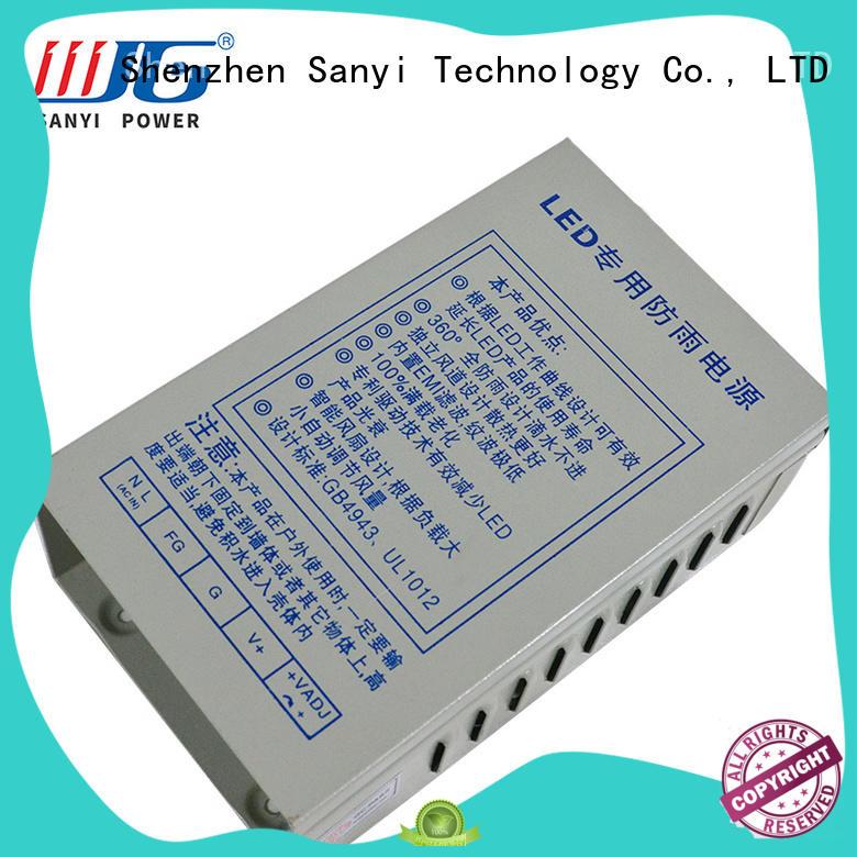 Sanyi metal power led driver energy-saving for driver