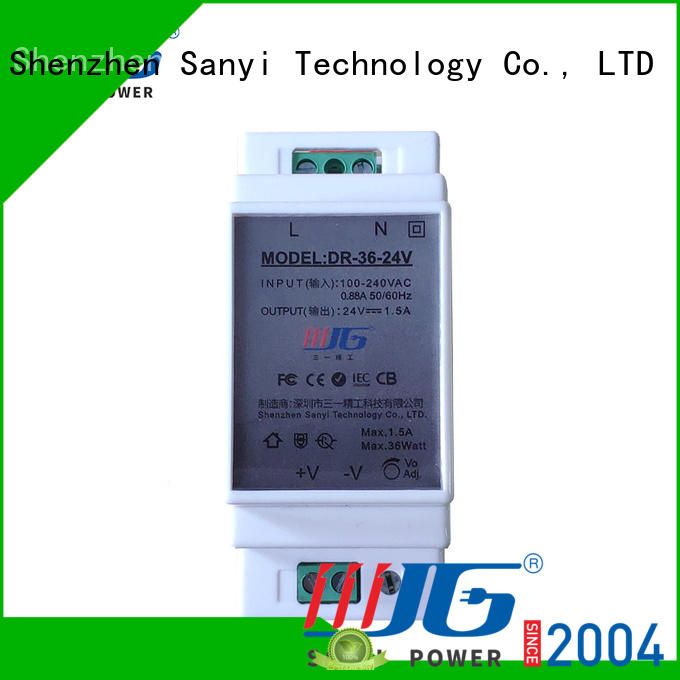Sanyi custom 24vac power supply din rail cheap factory price for automation