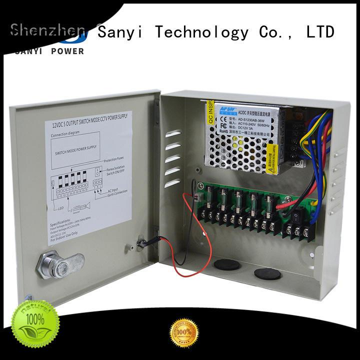 Sanyi Latest 4 camera power supply power for illuminator