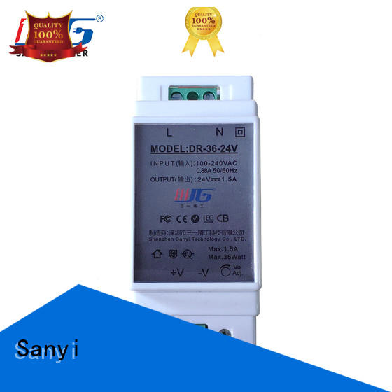 Sanyi automation 24vac power supply din rail inquire now for equipment