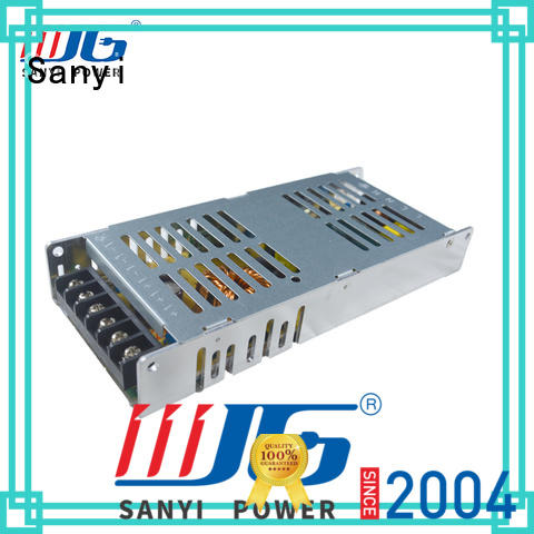 Sanyi top brand 9v dc power supply manufacturers for camping