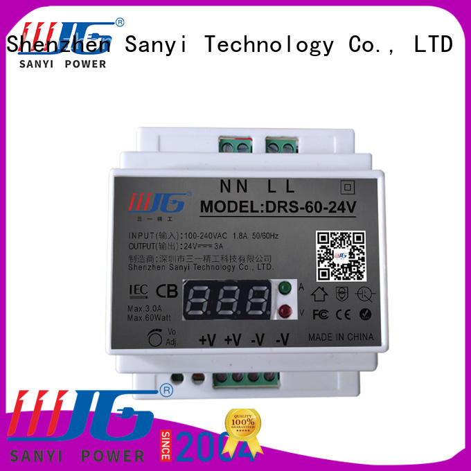 Sanyi all sizes din power supply high quality for dc