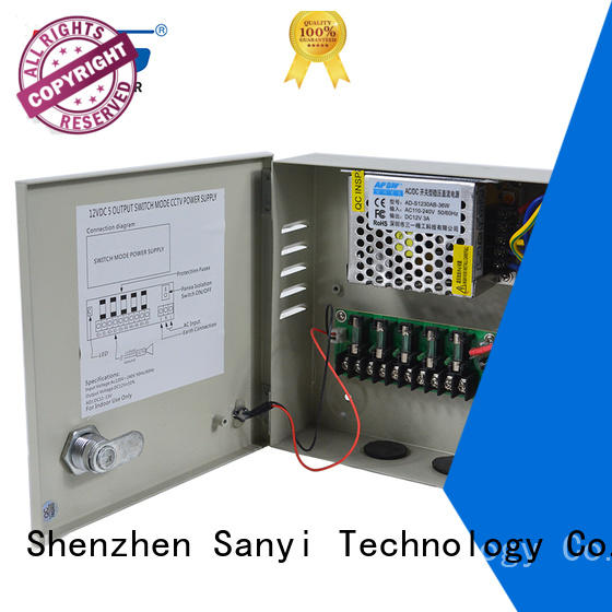Sanyi New security camera power box access control for led