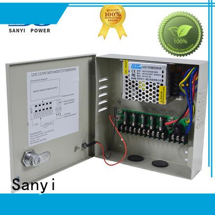Sanyi high quality cctv switching power supply long lifespan for cctv