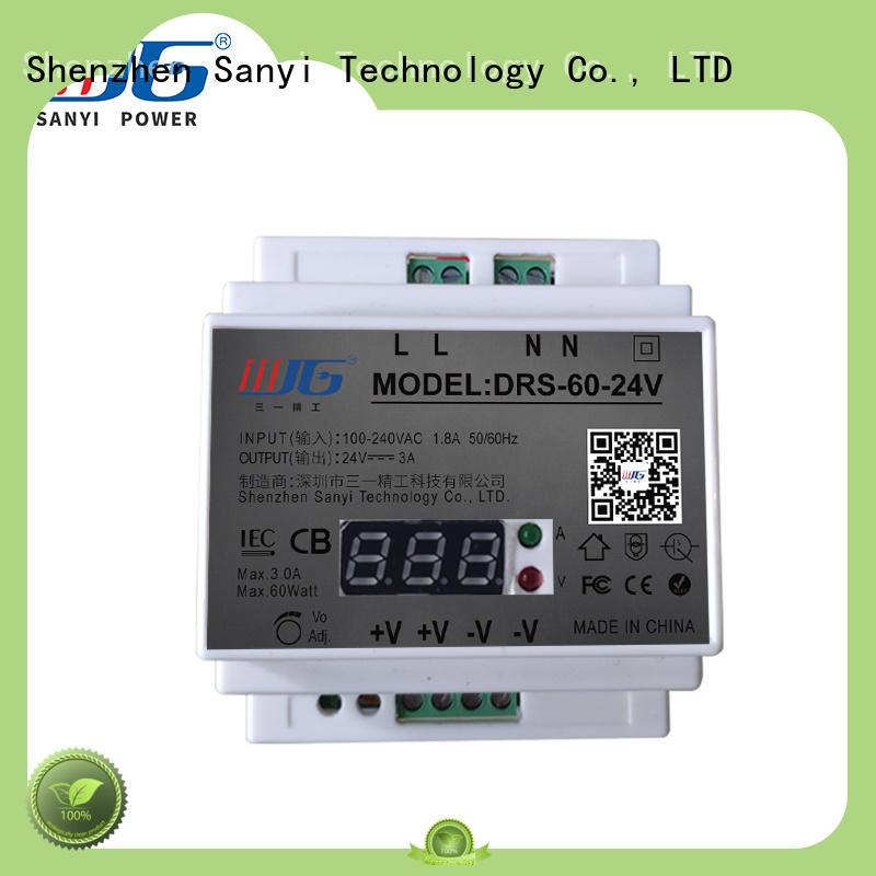 dc 24vac power supply din rail automation equipment Sanyi