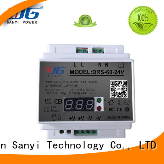 Sanyi Brand rail industrial equipment power din-rail power supply