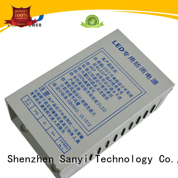 Sanyi box 12v 10a power supply energy-saving for cctv