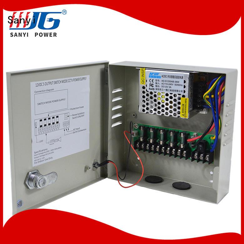 outdoor security camera power supply 12v road
