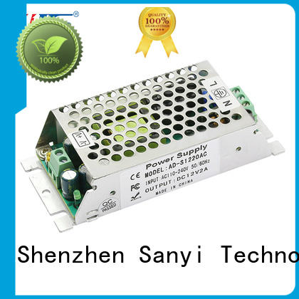 Sanyi industrial 24v switching power supply factory price for equipment